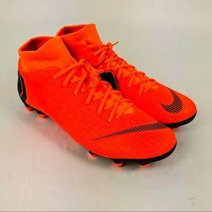 Nike Superfly 6 Academy Orange Black Soccer Cleats